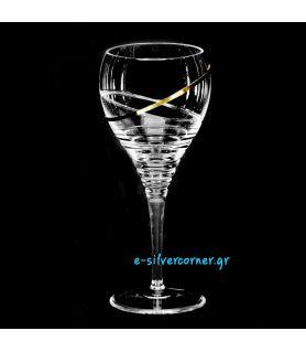 Crystal Wedding Wine Glass BOHEMIAN SUNFLOWER