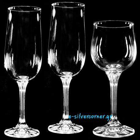 Crystal Wedding Set Glasses BOHEMIAN CLASSIC