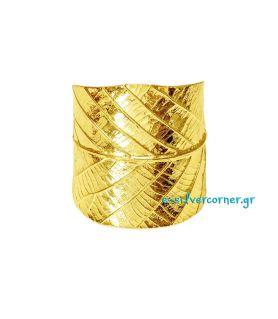 Handmade Bracelet Chestnut -  7 cm in Width