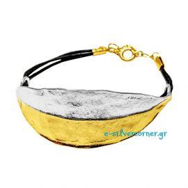 Handmade Bracelet Olive - Cord