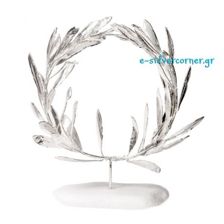 Silver Wreath from Olive Branch