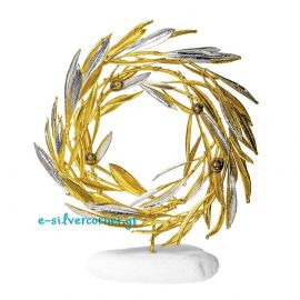 Gold Wreath from Olive Branch