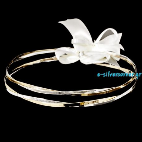 Silver Wedding Crowns Eliki