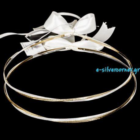 135 Ασημένια Στέφανα Γάμου Αλιάνα