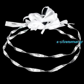 Silver Wedding Crowns A-1015