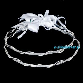 Handmade Wedding Crowns SILVERIA