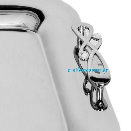 Ανοξείδωτος(Inox) Δίσκος Γάμου 4251Α/ΝΟΤΑ