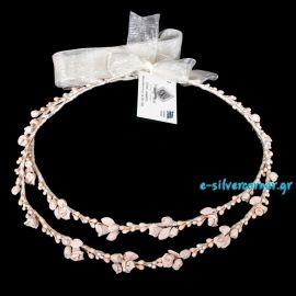 Porcelain Wedding Crowns DENISE