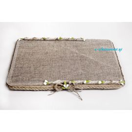 Handmade Wedding Tray CANVAS VALLEY