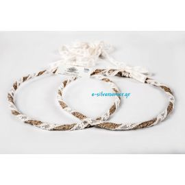 Handmade wedding crowns CANVAS LACE