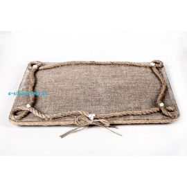 Handmade Wedding Tray ΑEGEAN CANVAS