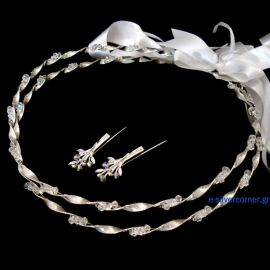 Handmade Wedding Crowns Ε-3032