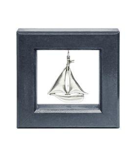 Κάδρο με Καράβι Silver