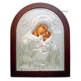 Holy Virgin Mary Kissing Lovingly