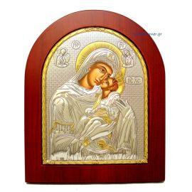 Holy Virgin Mary Kissing Lovingly (Gold Decoration)
