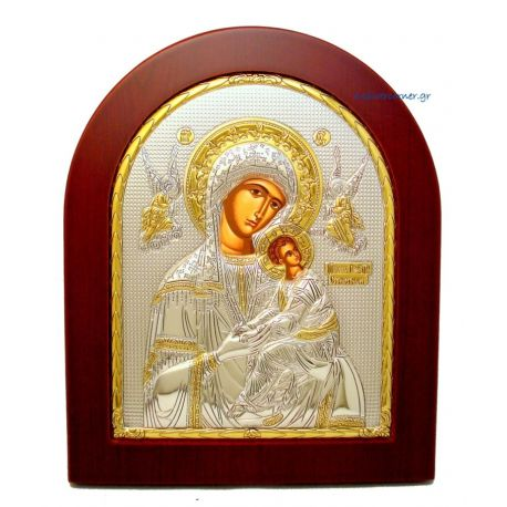 Holy Virgin Mary Unspoiled (Gold Decoration)