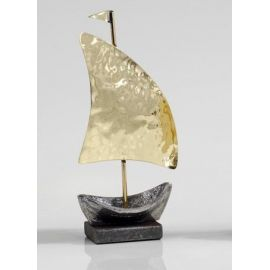 Sailboat with Hammered Sail - Small