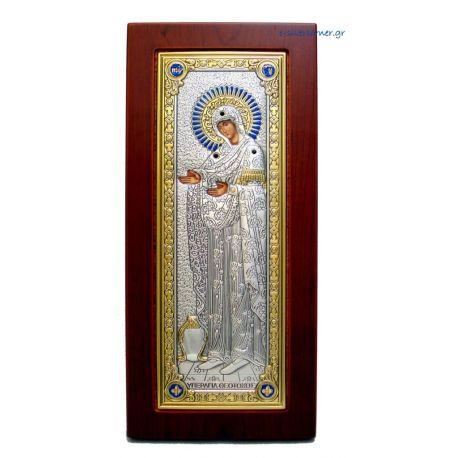 Υπεραγία Θεοτόκος Γερόντισσα (Χρυσή Διακόσμηση)