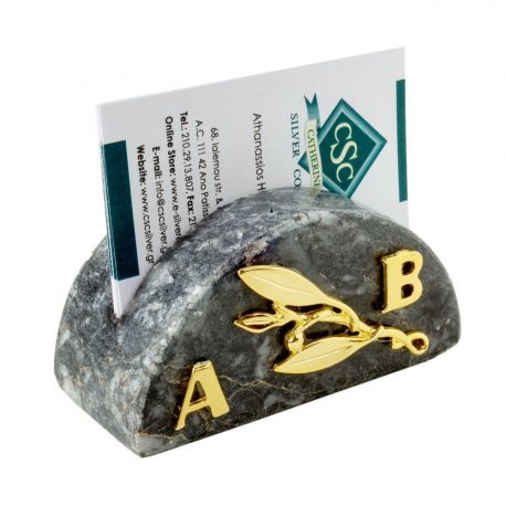 Marble Cardholder with Initials