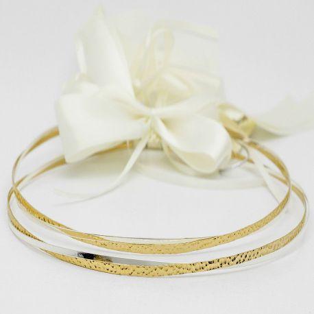Silver Wedding Crowns Electra