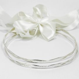 Silver Wedding Crowns A-1125