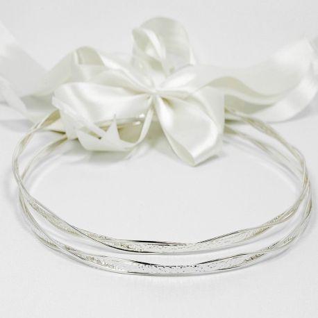 Silver Wedding Crowns Thivi