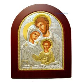 Holy Family (Gold Decoration)
