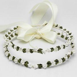Porcelain Wedding Crowns VIRGINIA