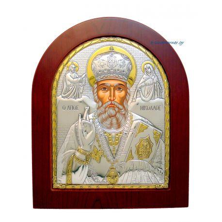 Άγιος Νικόλαος (Χρυσή Διακόσμηση)