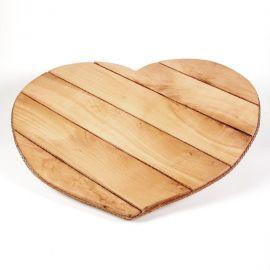 Δίσκος Ξύλινος BEECH HEART
