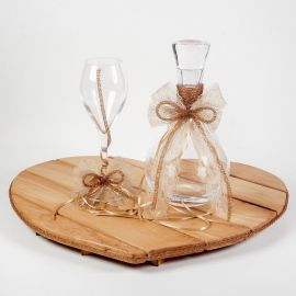Wedding Set BEECH HEART