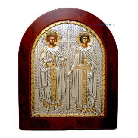St. Constantine & Helen (Gold Decoration)