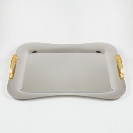 Stainless Steel Tray 18/10 INOX GOLD ΜΑΤ
