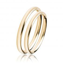 Κλασσική Βέρα Γάμου Χρυσή