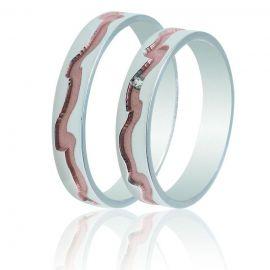 Χειροποίητη Βέρα Γάμου με Κυματιστό Σκάλισμα