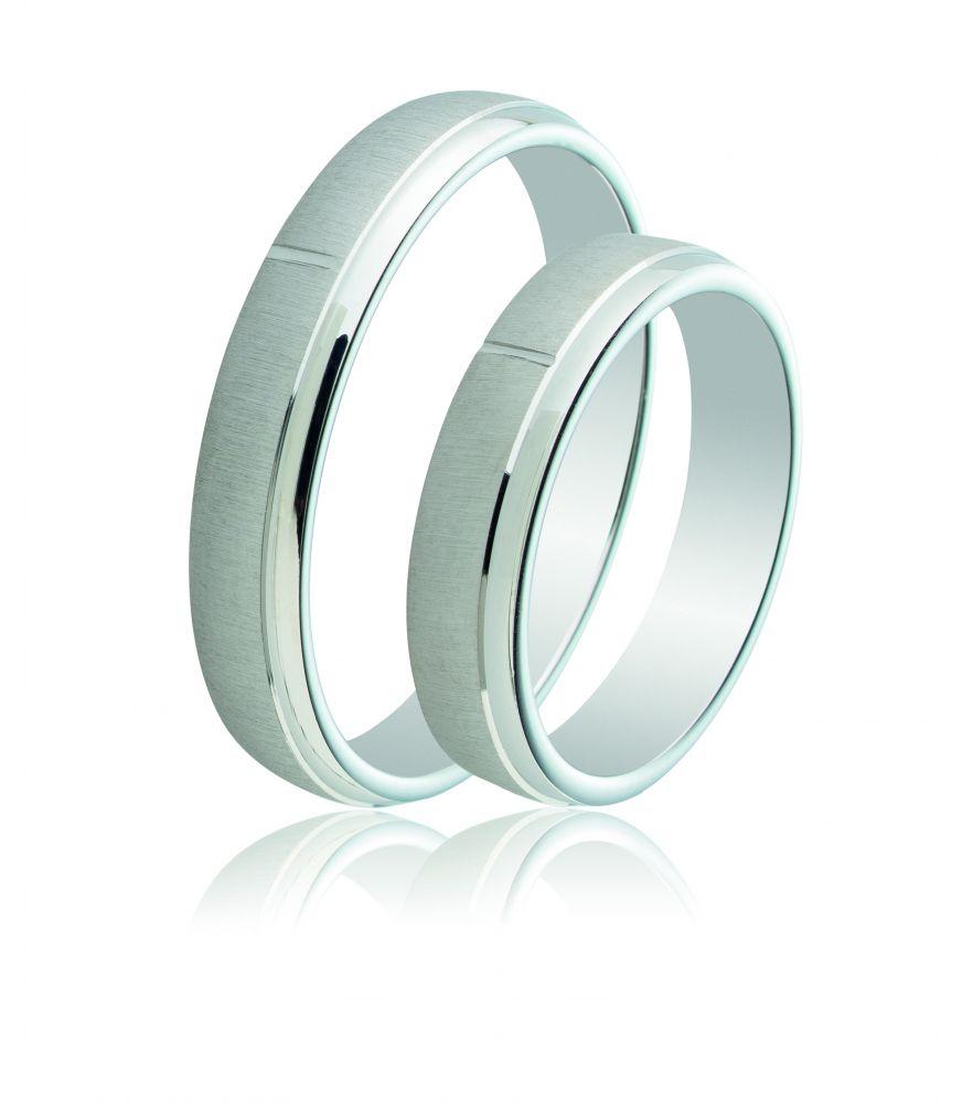 Ασημένια Βέρα Γάμου Ματ Λουστρέ - Catherine s Silver Corner df5f6e47b85
