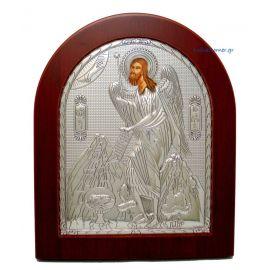Ασημένια Εικόνα Άγιος Ιωάννης ο Πρόδρομος