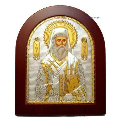 St. Nectarios (Gold Decoration)