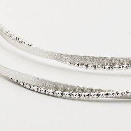 Ασημένια Στέφανα Γάμου DIAMOND RING