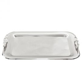 Stainless Steel Tray 18/10 SILVER LEAF