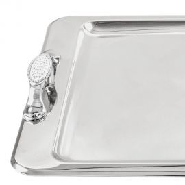 Stainless Steel Tray 18/10 LACE STONE