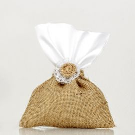 Wedding Burlap Bomboniere