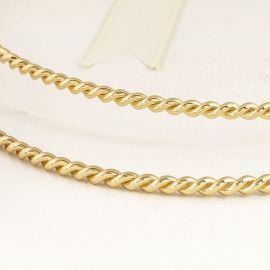 Handmade Wedding Crowns Twist Gold