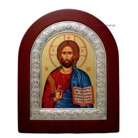Ασημένια εικόνα Κύριος Θεού Σοφία Αγιογραφία