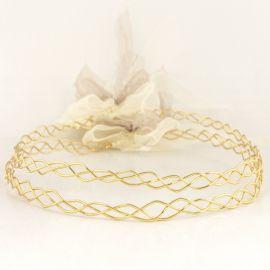 Handmade Wedding Crowns VIBE GOLD