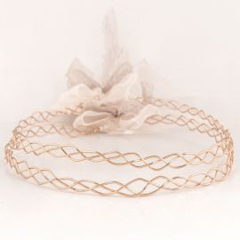 Handmade Wedding Crowns VIBE ROSE GOLD