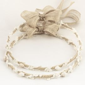 Handmade Wedding Crowns CANVAS LACE SHELL