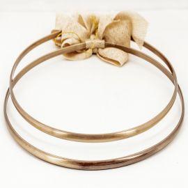 Handmade Wedding Crowns BRONZE MINIMAL