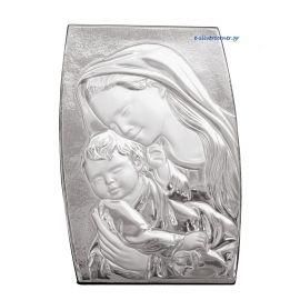 Ασημένια Εικόνα της Παναγίας Πλαγιαστή