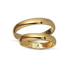 Βέρα Γάμου Κλασική Καμπυλωτή (Μεμονωμένο Τεμάχιο)